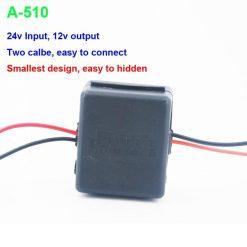 DC24V to 12V Car power charger adapter converter DC/DC Converter Regulator 24V Step Down to 12V Low Voltage Reducer Buck Transformer Vehicles 8