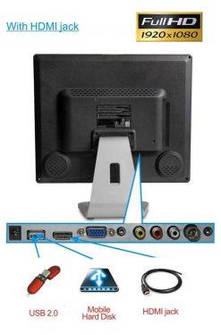 Digital TFT LCD TV MPEG4 VGA HDMI 12