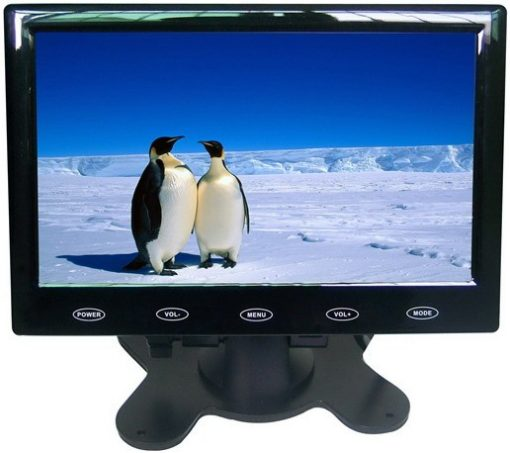 "7"" Car slim design Digital stand LCD Monitor 5"