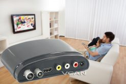 Digital TV receiver Set Top Box Home HDTV HDMI USB 9