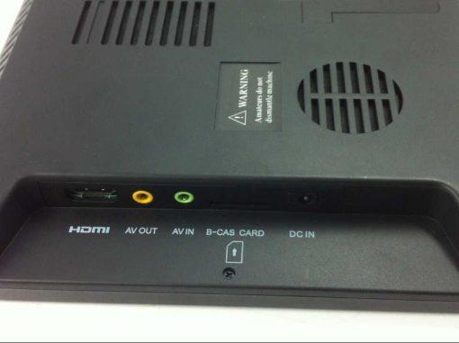 VCAN1116 10 inch portable ATSC LCD TV monitor HD FTA digital TV receiver decoder tuner with antenna 5