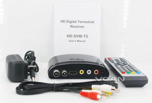 DVB-T2 mini Digital TV receiver 4