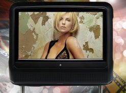 9 inch Headrest DVD touch screen USB SD Game MP5 player, IR FM 2 Speaker, 8-32 bits Game 13