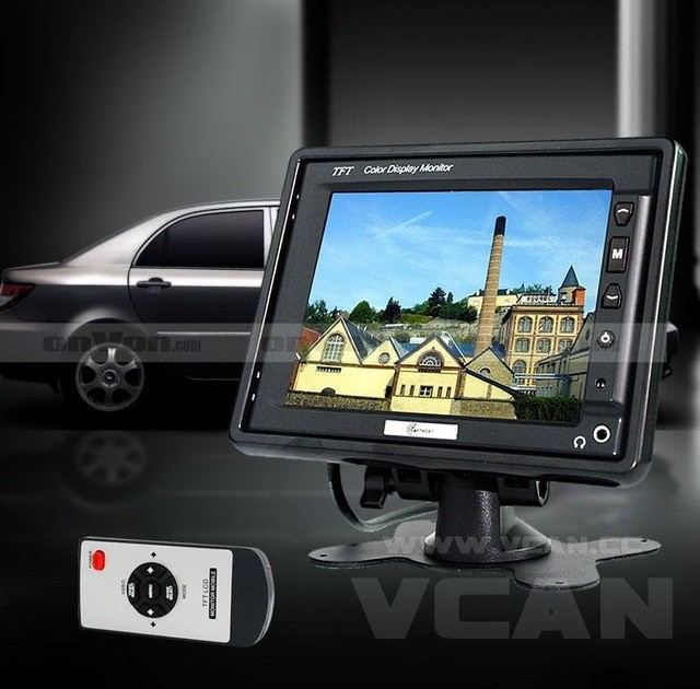 TM-564A 5.6 inch TFT Headrest Stand alone car monitor bracket 4