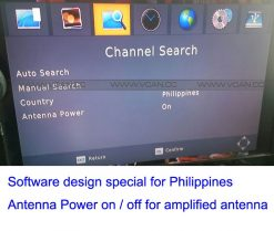 Car ISDB-T Philippines Digital TV Receiver 14