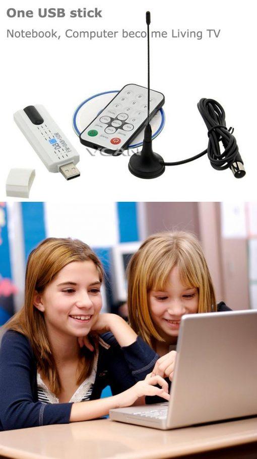 USB DVB-T2 PC DTV receiver DVB-T2 DVB-T DVB-C SDR FM DAB TV stick DVB-T2U, change your PC to DTV 5