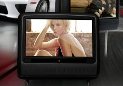 9 inch Headrest DVD touch screen USB SD Game MP5 player, IR FM 2 Speaker, 8-32 bits Game 14