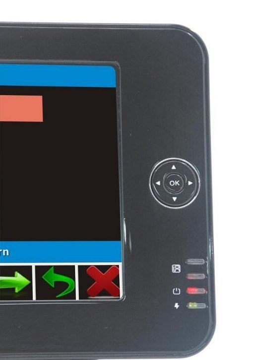 7 inch handheld HD wireless COFDM receiver portable 7