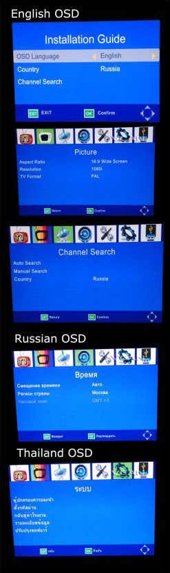 2X2 Two tuner antenna car DVB-T2 Diversity High Speed Russia Thailand 10