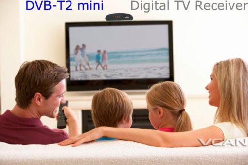DVB-T2 mini Digital TV receiver 5