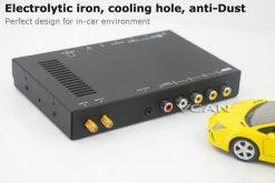 Car DVB-T digital tv receiver 2 antenna tuner TNT TDT 15