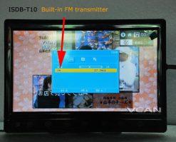 2 tuner 2 antenna 10.1 inch full seg digital TV receiver 19