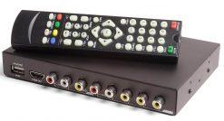 Car DVB-T Receiver MPEG4 H.264 2 tuner 2 diversity antenna Booster Recorder DVBT 17