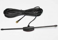 Car DVB-T2 antenna Digital tv aerial built-in signal enlarger booster VCAN1185 2