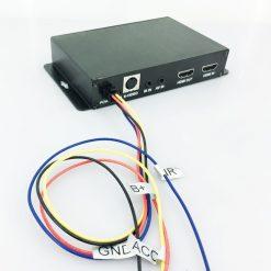 Car DVB-T2 DVB-T Multi PLP Digital TV Receiver 2 Antenna Diversity Dual Aerial H264 MPEG4 HD High Speed FTA STB 7