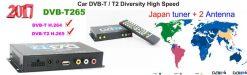 Germany DVB-T2 H265 HEVC 2017 New Model DVB-T265 automobile digital car dvb-t2 tv receiver 16