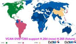 Germany DVB-T2 H265 HEVC 2017 New Model DVB-T265 automobile digital car dvb-t2 tv receiver 12
