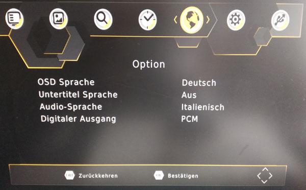 Germany Auto DVB-T2 option