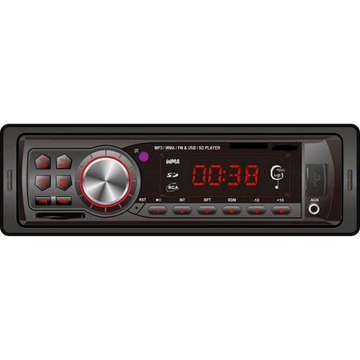 In dash One din Car USB SD MP3 player FM radio AUX audio input