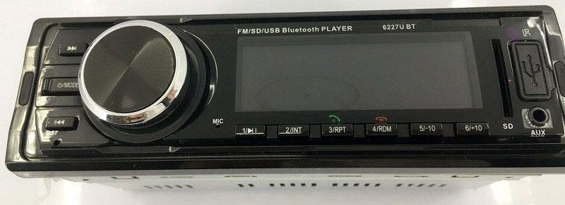 Fixed Panel Car MP3 USB SD FM Bluetooth MP3-6227 26