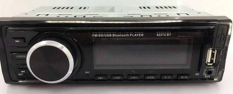Fixed Panel Car MP3 USB SD FM Bluetooth MP3-6227 34