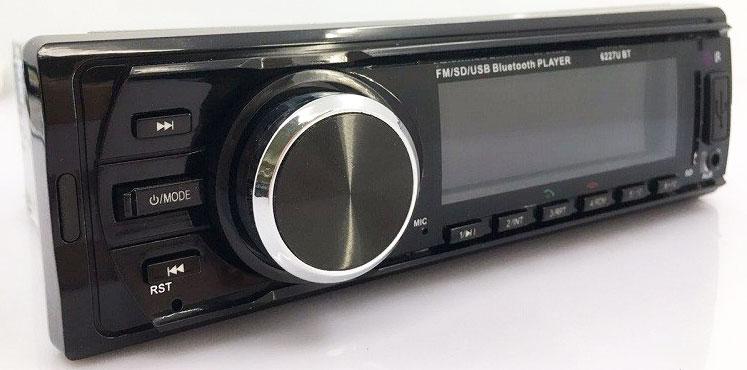 Fixed Panel Car MP3 USB SD FM Bluetooth MP3-6227 27