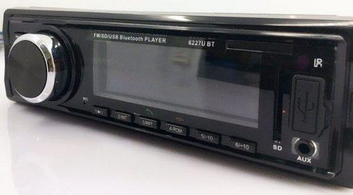 Fixed Panel Car MP3 USB SD FM Bluetooth MP3-6227 4