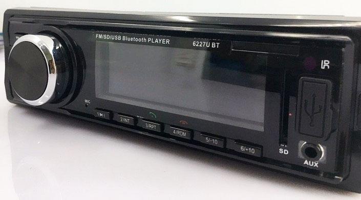 Fixed Panel Car MP3 USB SD FM Bluetooth MP3-6227 28