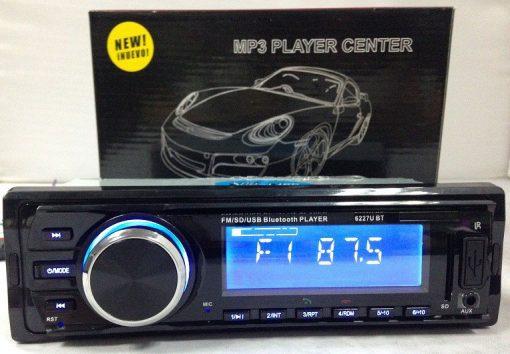 Fixed Panel Car MP3 USB SD FM Bluetooth MP3-6227 7