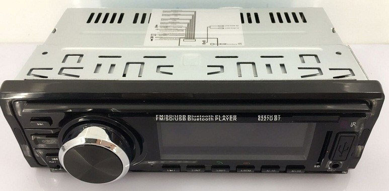 Fixed Panel Car MP3 USB SD FM Bluetooth MP3-6227 33