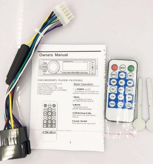 Fixed Panel Car MP3 USB SD FM Bluetooth MP3-6227 11