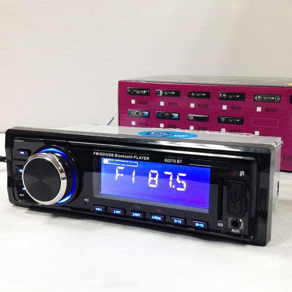 Fixed Panel Car MP3 USB SD FM Bluetooth MP3-6227 36