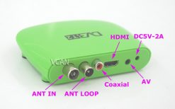 Mini HD DVB-T2 Home H.264 Set Top Box with USB support PVR 7