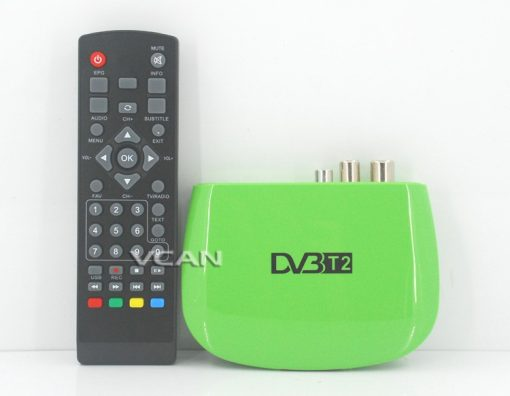Mini HD DVB-T2 Home H.264 Set Top Box with USB support PVR 1