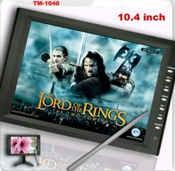 10.4 inch new panel VGA TFT touchscreen laptop monitor with speaker amplifier TM-1040 8