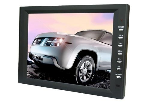 10.4 inch new panel VGA TFT touchscreen laptop monitor with speaker amplifier TM-1040 3