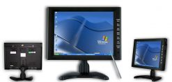 10.4 inch new panel VGA TFT touchscreen laptop monitor with speaker amplifier TM-1040 6