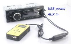 DAB digital radio receiver dab plus tuner Antenna USB power AUX input music changer 5