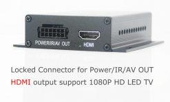 In-car Auto DVB-T DVB-T2 TV receiver box diversity 2 antenna MPEG4 H.264 STB dvb-t7200 10