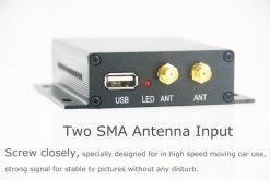 In-car Auto DVB-T DVB-T2 TV receiver box diversity 2 antenna MPEG4 H.264 STB dvb-t7200 9