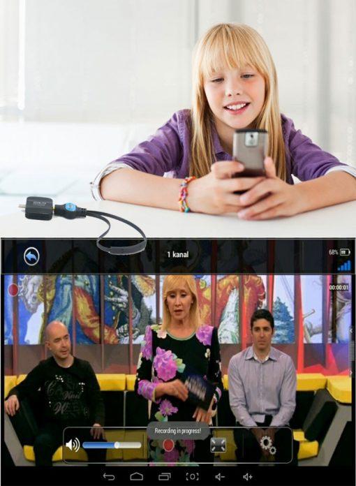 ATSC USB TV stick mobile phone use tuner USA Canada Mexico micro usb android phone pad ATSC-77 5