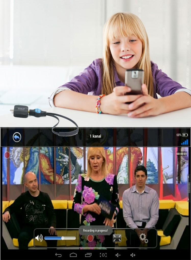 ATSC USB TV stick mobile phone use tuner USA Canada Mexico micro usb android phone pad ATSC-77 28