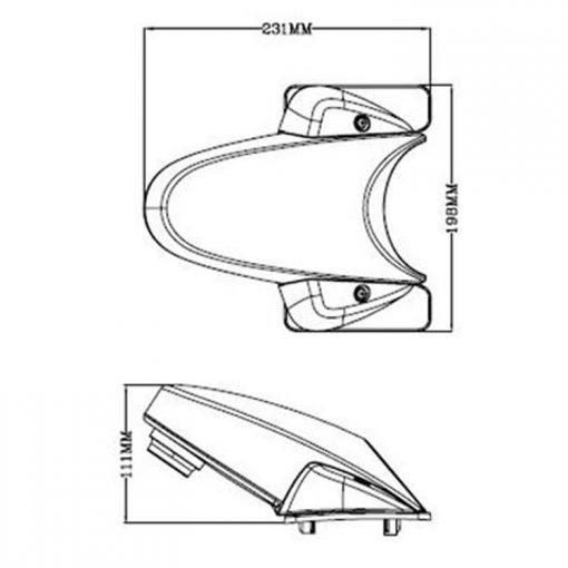 Sprinter camera reversing back view parking safety CCD camera for Mercedes Benz Van 1