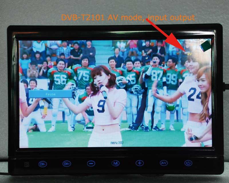 diversity dvb-t cofdm 10.1 inch digital tv monitor dvb-t2 receiver hdmi in out 6M 7M 8M bandwidth 170M to 930M frequency DVB-T2101HD 11