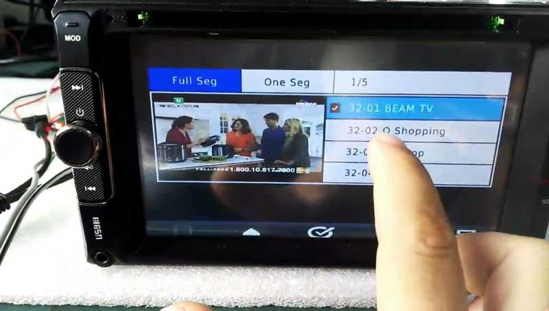 ISDB-T TV Module modulator full segment HD MPEG4 for in-car dvd gps head unit portable devices 5