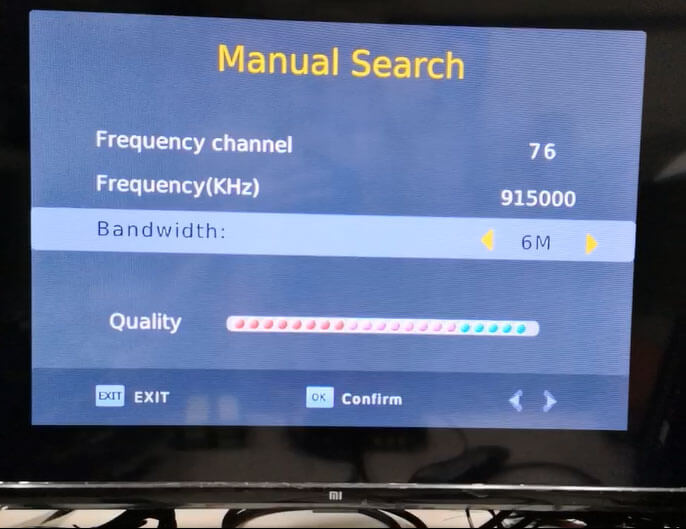 COFDM 915Mhz Frequency 6M Bandwidth