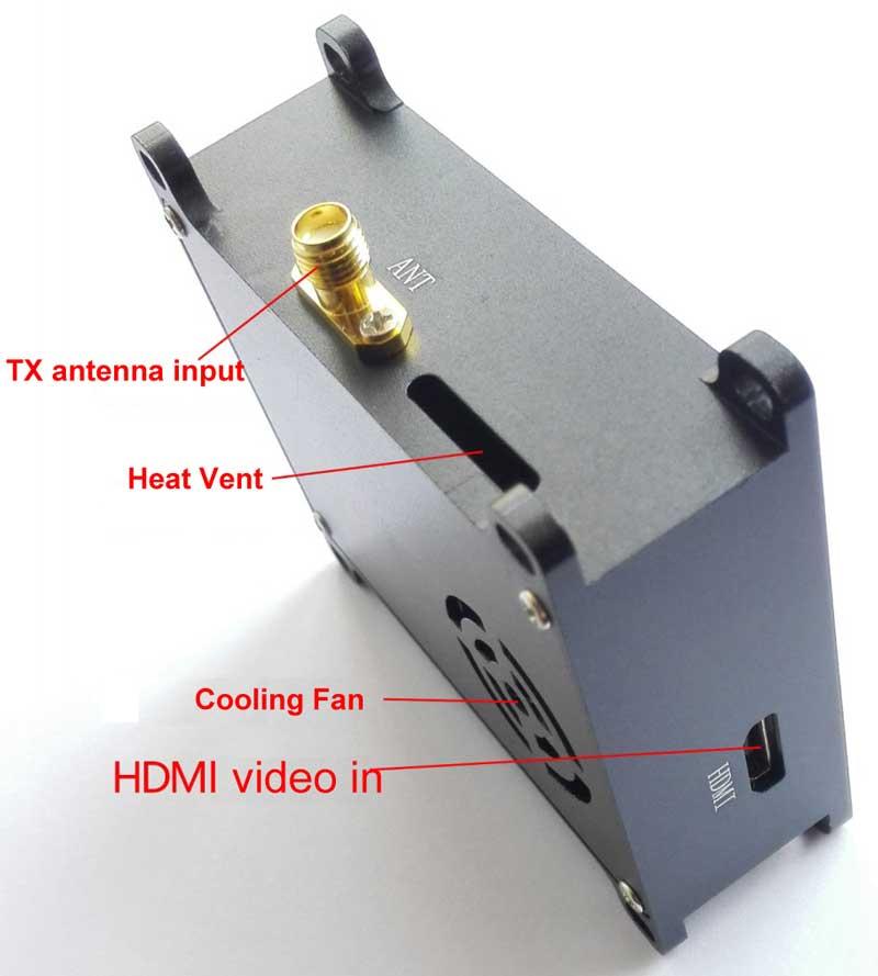 COFDM Wireless Video Transmitter