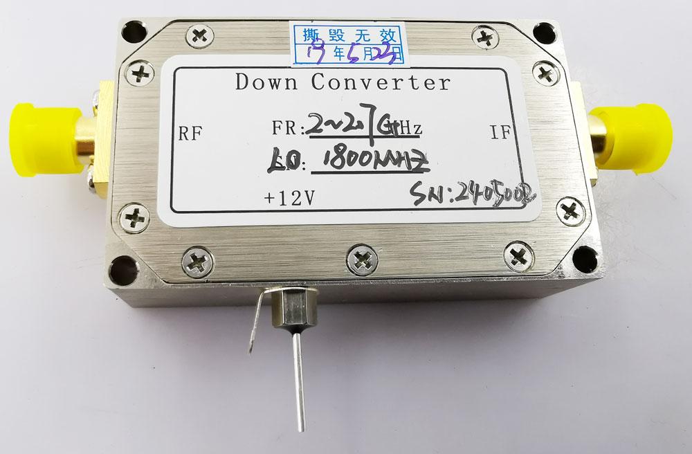 Digital Down Converter COFDM Transfer frequency 2.4G to 600Mhz low BDC 6