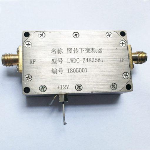 Digital Down Converter COFDM Transfer frequency 2.4G to 600Mhz low BDC 1