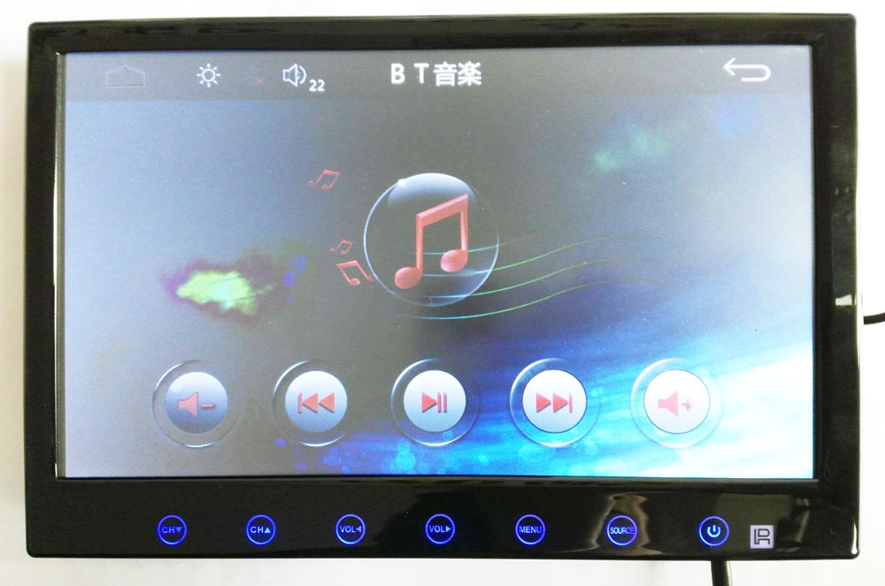9 inch Android GPS Navigation ISDB-T 2 tuners 2 antenna Digital TV Receiver isdb-t9gps 18